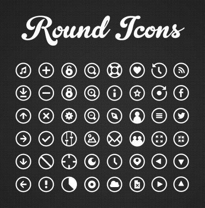48 Free Round icons