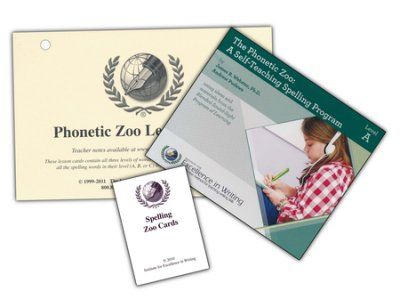 -Joshua & Luke- Excellence in Spelling: The Phonetic Zoo, Level A Curriculum  -     By: Andrew Pudewa, James B. Webster Ph.D.