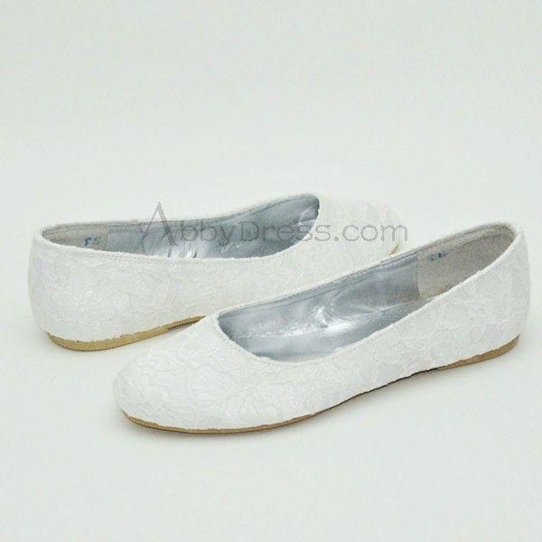 buy popular 7a8bd dd550 Hochzeitsschuhe-Flache Schuhe | Brautschuhe | Flache Schuhe ...