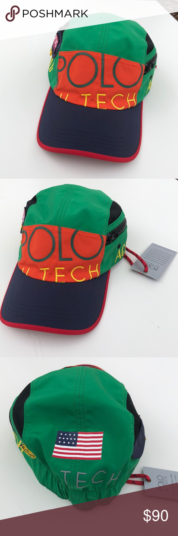 f5d8f0c5d Ralph Lauren Polo Hi tech hat... Brand New!! Brand New with tags ...