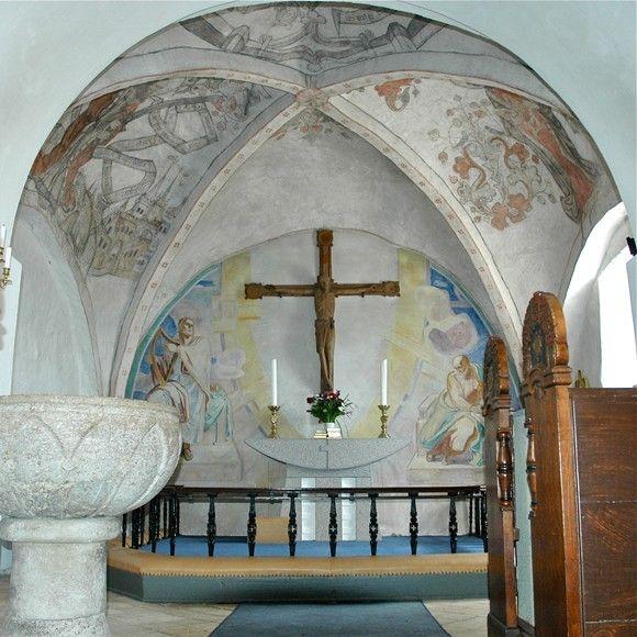 Fra Femo Kirke Ar 1530 V Guldborgsund Med Billeder Kirke Danmark Udsmykning