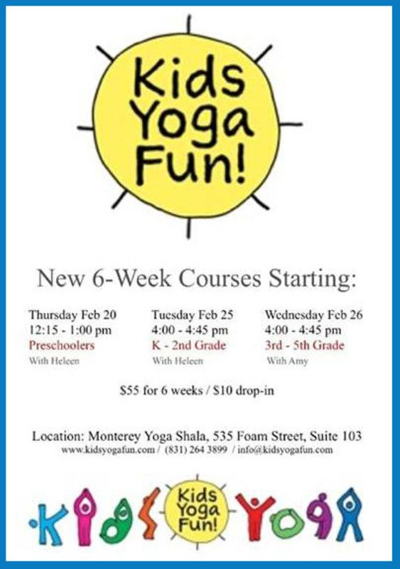 Kids Yoga Flyer 2013 Cropped | Yogi Hari | Pinterest | Yoga