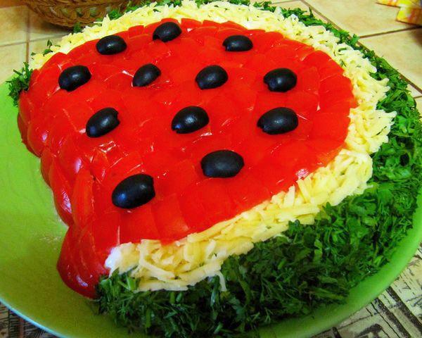Украшение и рецепты салатов и их 31