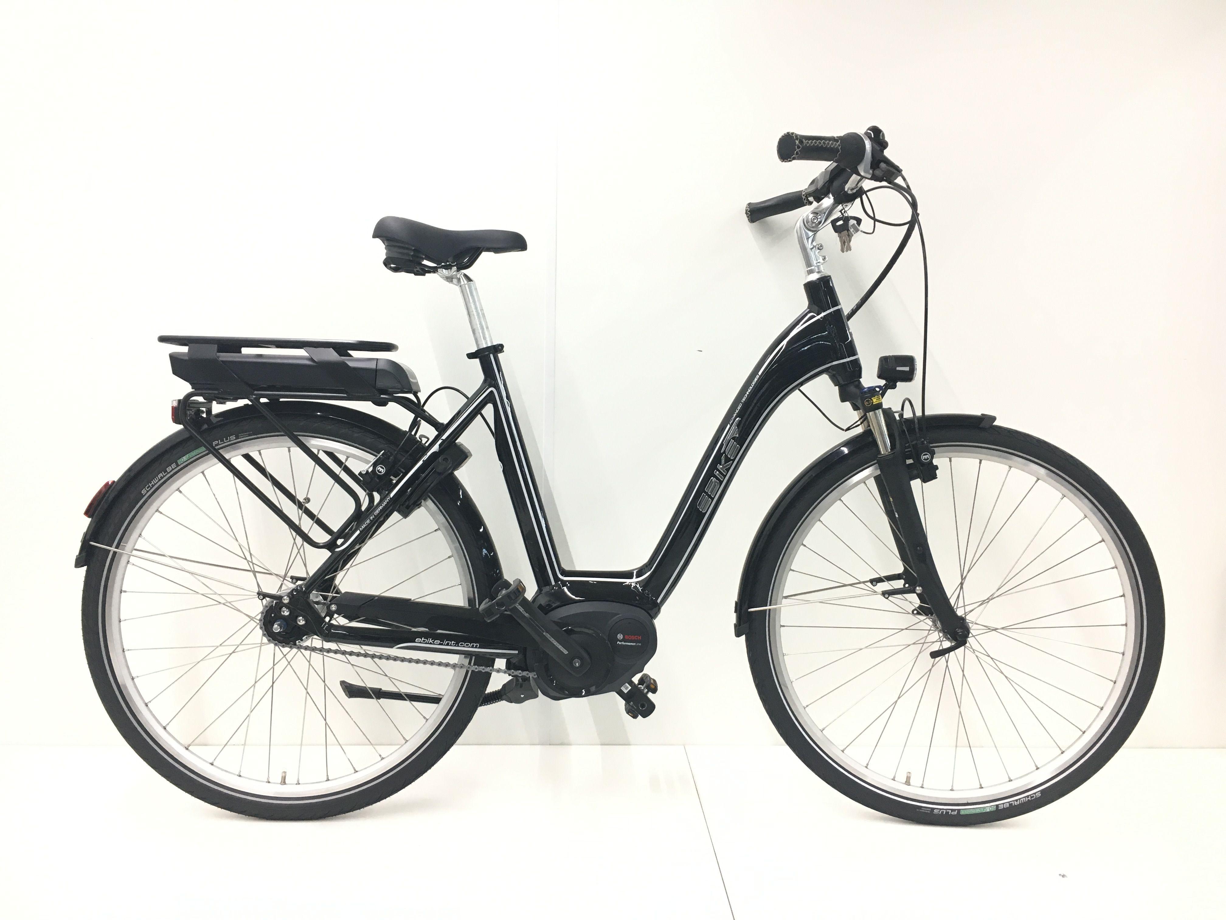 Ebike C004 Amsterdam Fahrrad Federgabel Motor