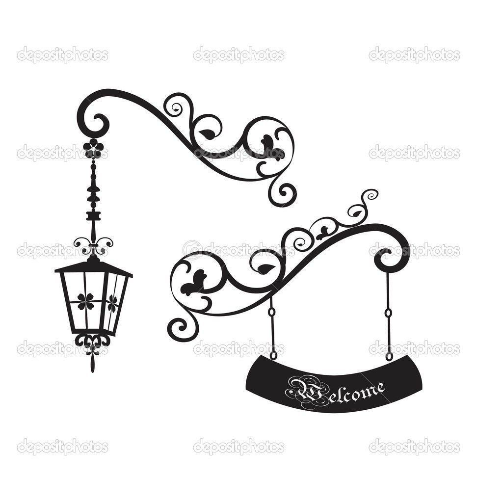 Street lamp Stock Vectors, Royalty Free Street lamp Illustrations ... for Street Lamp Post Vector  103wja