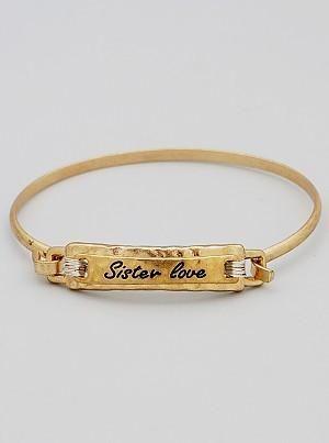 {Mantra Bracelet - Sister Love}