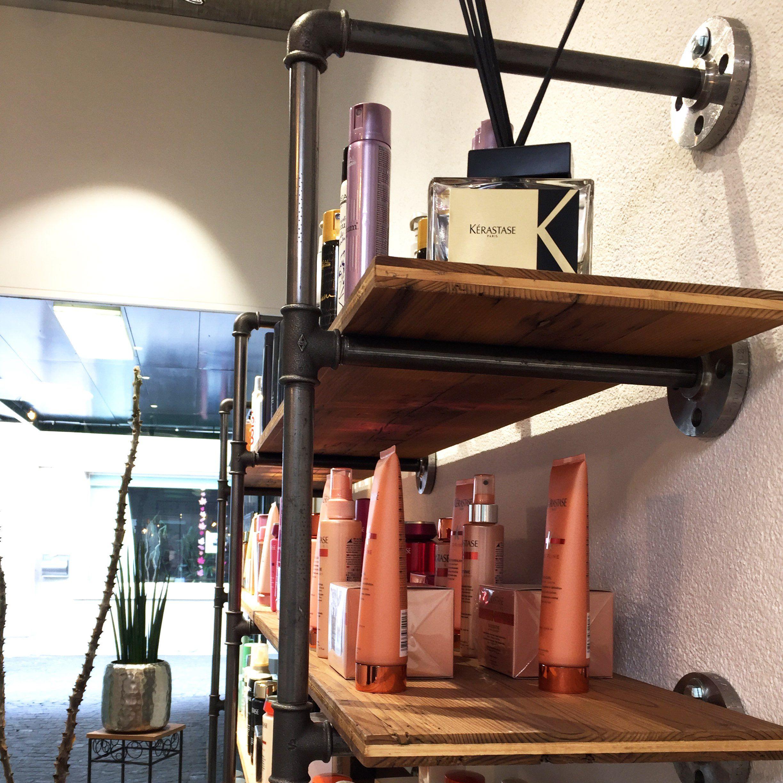 industrial design modern look open closets clothing racks coat racks shelves shelf. Black Bedroom Furniture Sets. Home Design Ideas