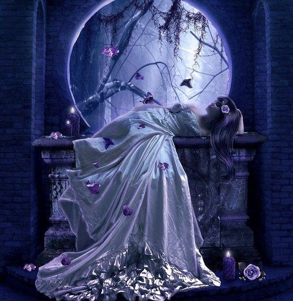 Belle soir e et douce nuit romantiques souhait for Nuit romantique