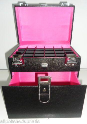 OPI ? Luxury Nail Tech Storage Case that holds 24 Polishes ??? Black Hot Pink & Triumph Dog Turkey Pea u0026 Berry Grain Free Jerky 24-Ounce | Luxury ...