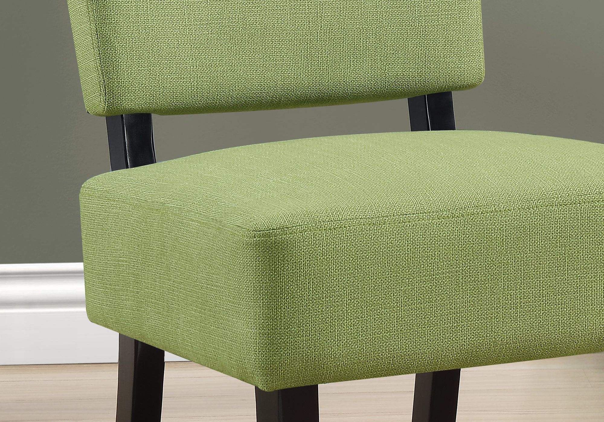 ACCENT CHAIR LIME GREEN FABRIC New lime green modern