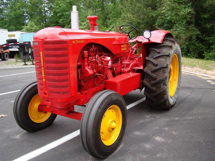 Massey Harris Tractor : Massey harris keystone antique truck tractor museum