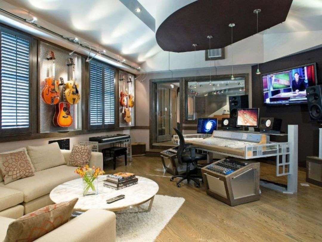 32 Awesome Home Studio Designs You Need To Know   Top Home Design ...