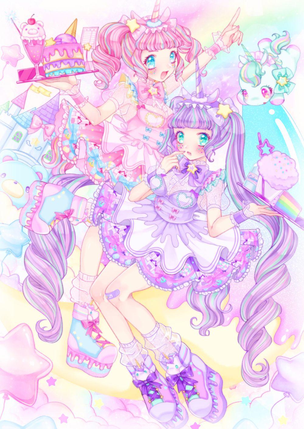 Pin by leyna rikka rebong on PriPara  Anime art girl, Kawaii art
