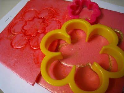 Awesome Idea Use Cookie Cutters On Styrofoam Trays For