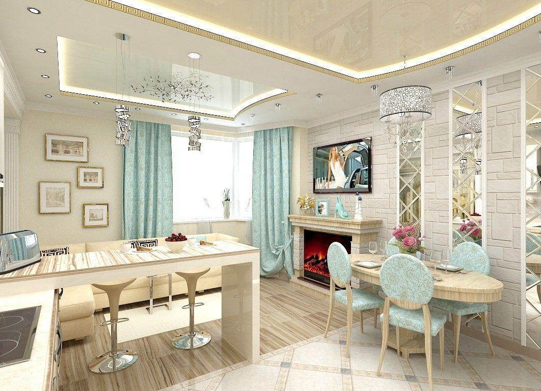 Кухня-гостиная 17 кв м (41 фото) и другие размеры | Mobilya