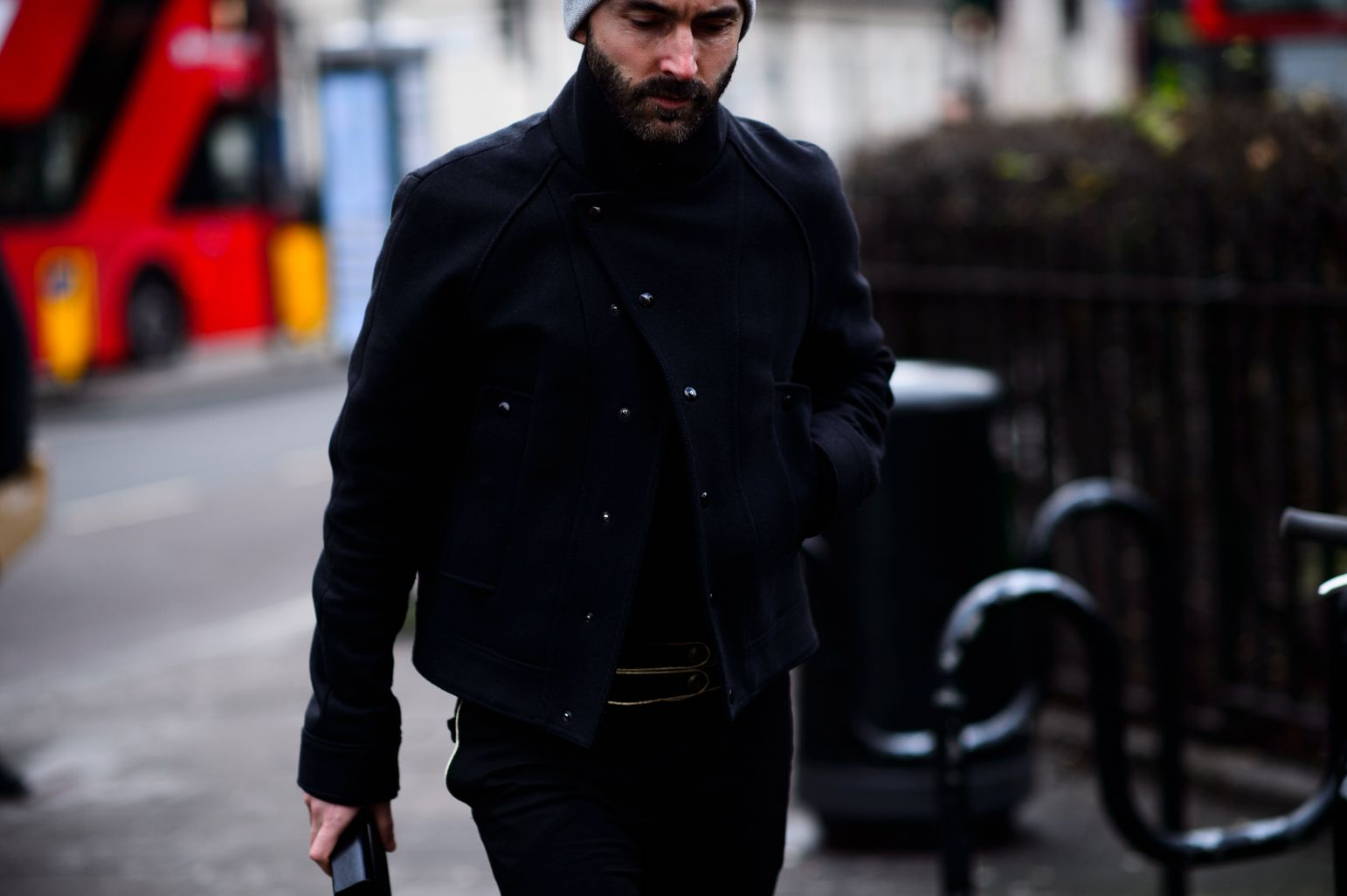 London Men's Fashion Week Fall 2016, Day 2 -