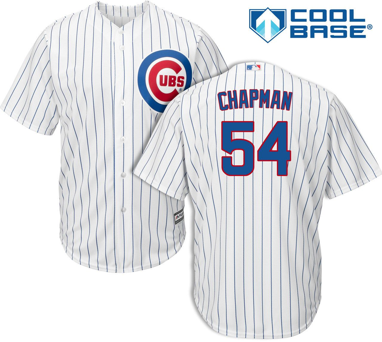 new arrival ecece 58d0c Aroldis Chapman Chicago Cubs Home Youth Cool Base Jersey ...