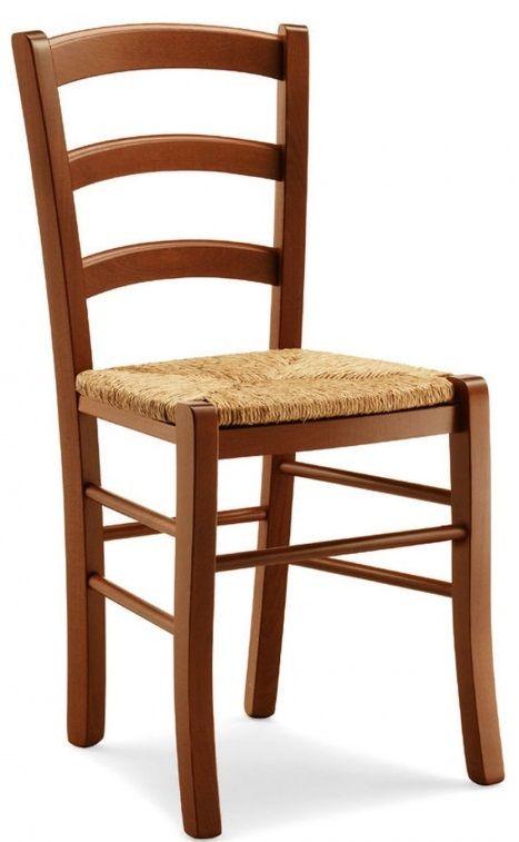 Sedie in legno per ristorante pub pizzeria con seduta ...