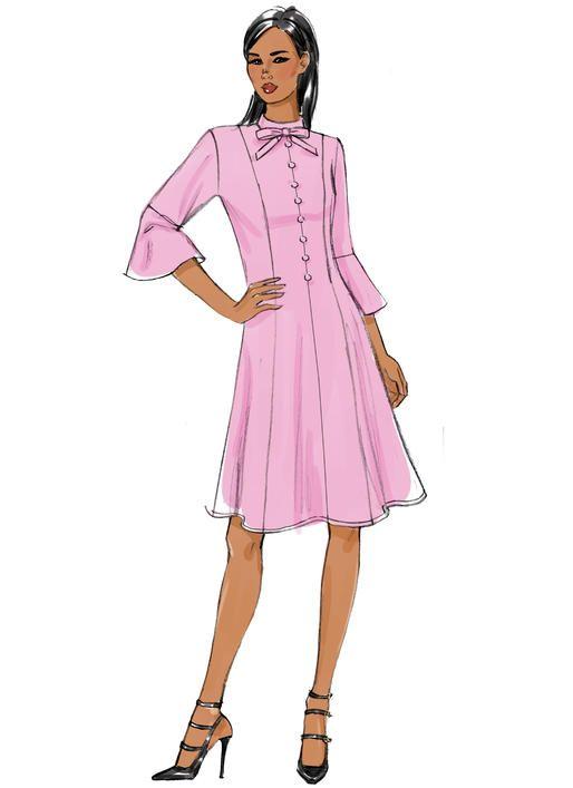 Very Easy Vogue sewing pattern V9279 MISSES\'/MISSES\' PETITE PRINCESS ...