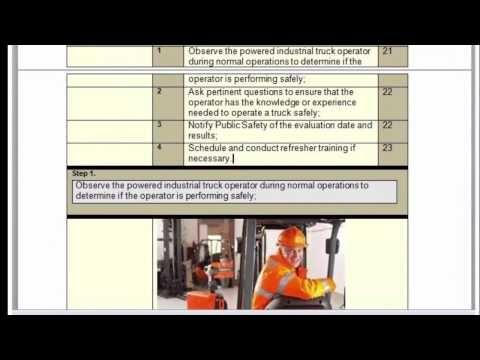Sop Express Templates Visual Work Instructions Usmc