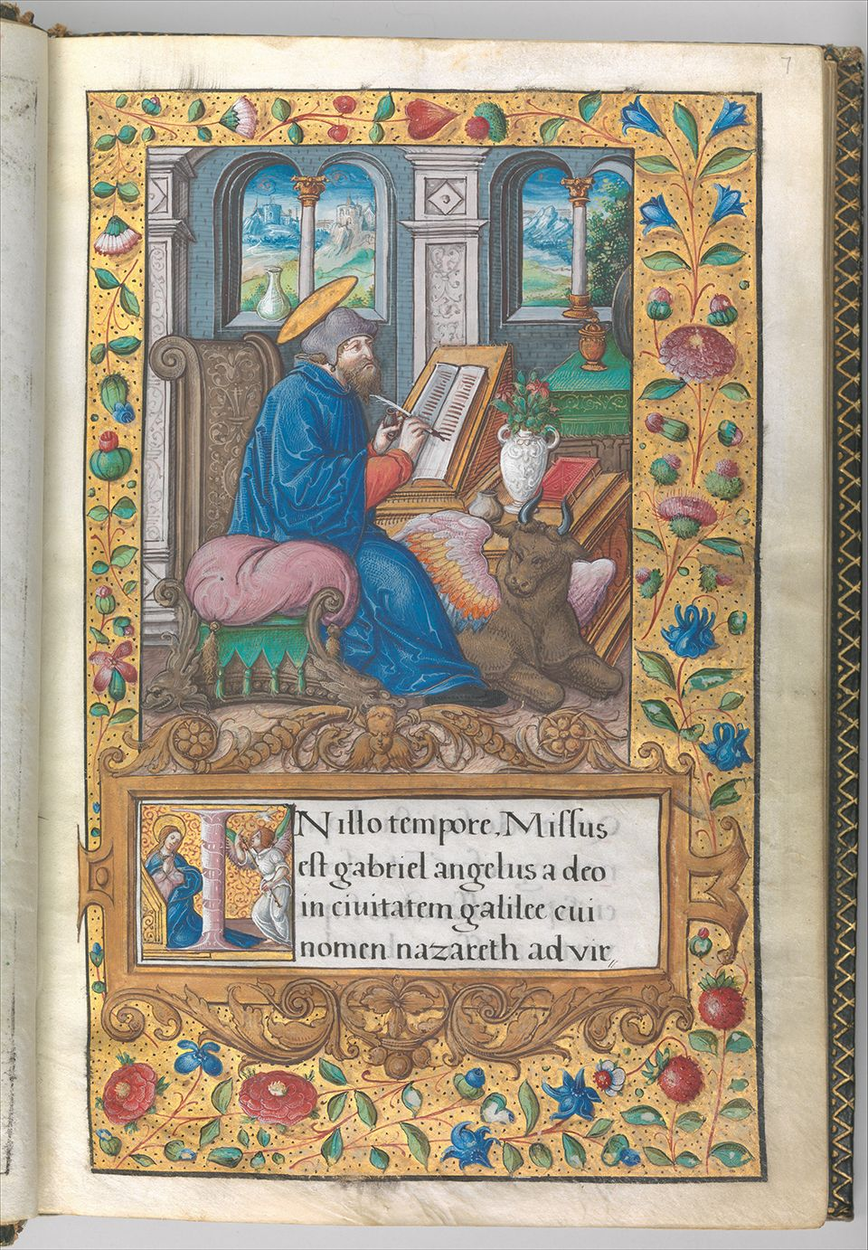d5 Illuminated Book of Hours made for King Francis I.