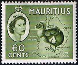 Mauritius 1953 SG 302a Dodo Bird Fine Mint SG 302a Scott 260 Other Commonwealth Stamps HERE