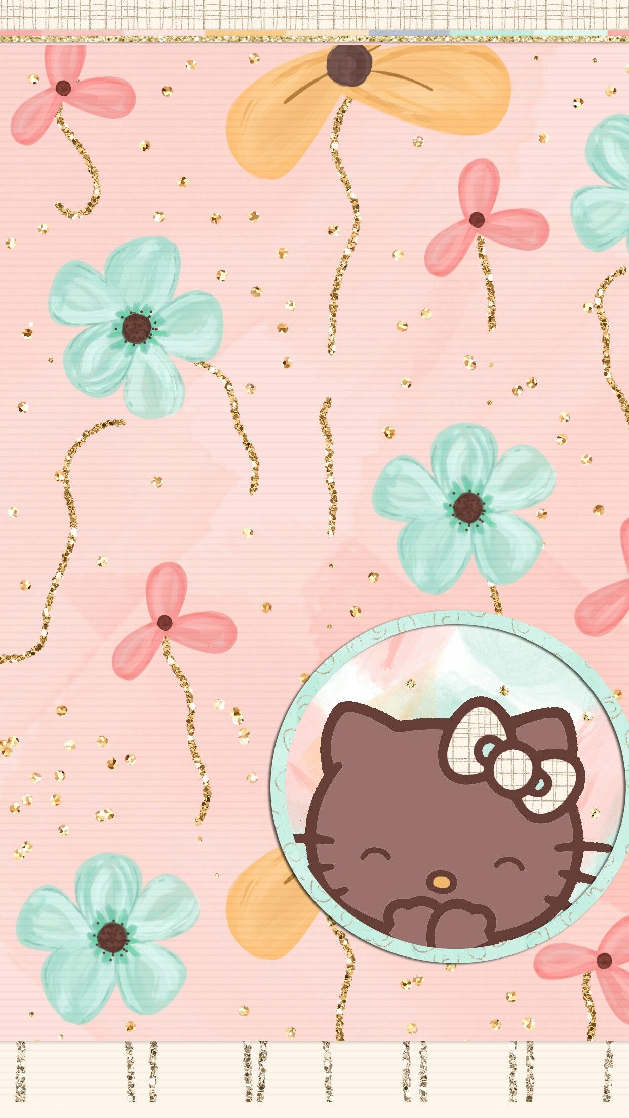 Pin By Maneerut Kutthaworn On My Uploads Evies Pretty Walls Hello Kitty Backgrounds Hello Kitty Pictures Hello Kitty Wallpaper