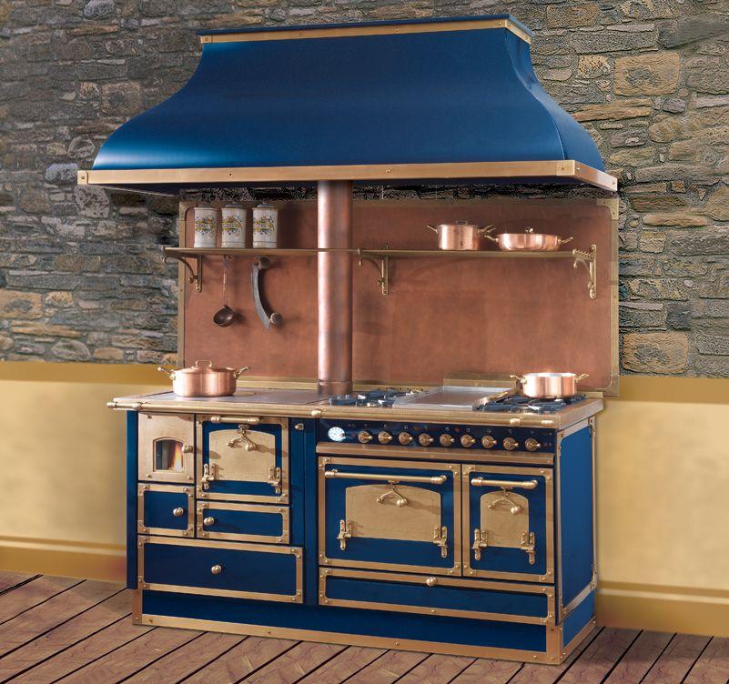 Cuisinière mixte bois / cuisson | Chauffage, cheminée, poêle ...