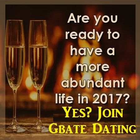 ♥ Join Gbate Dating Free  ♥ Change Your Destiny 2017