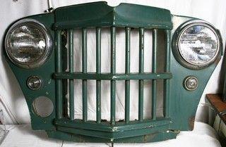 Vintage Willy Jeep Grill - Aurora Mills Architectural Salvage