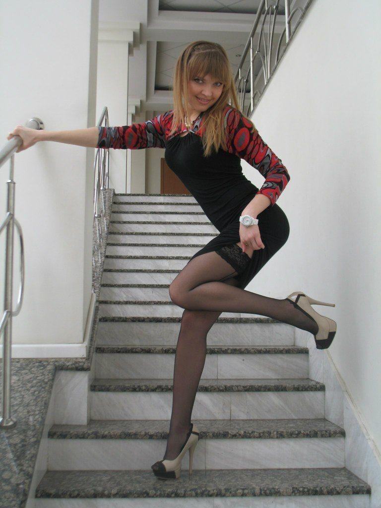 stockings teen Alamy