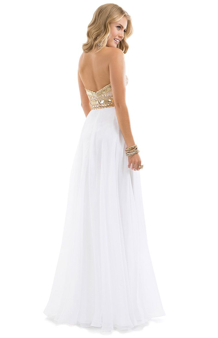 Now this is a prom dress P Check out the front on Flirtus