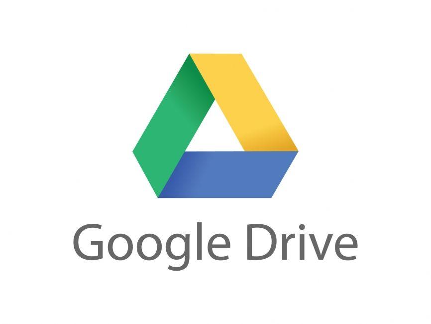 Google drive vector logo commercial logos