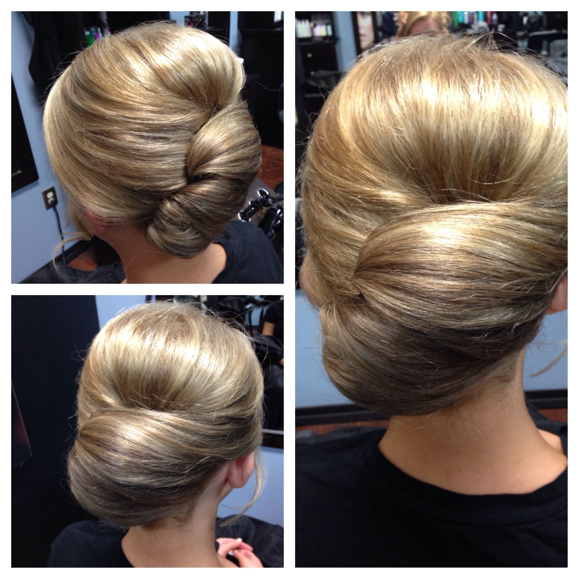 Sleek slick classy french with a twist anything hair pinterest