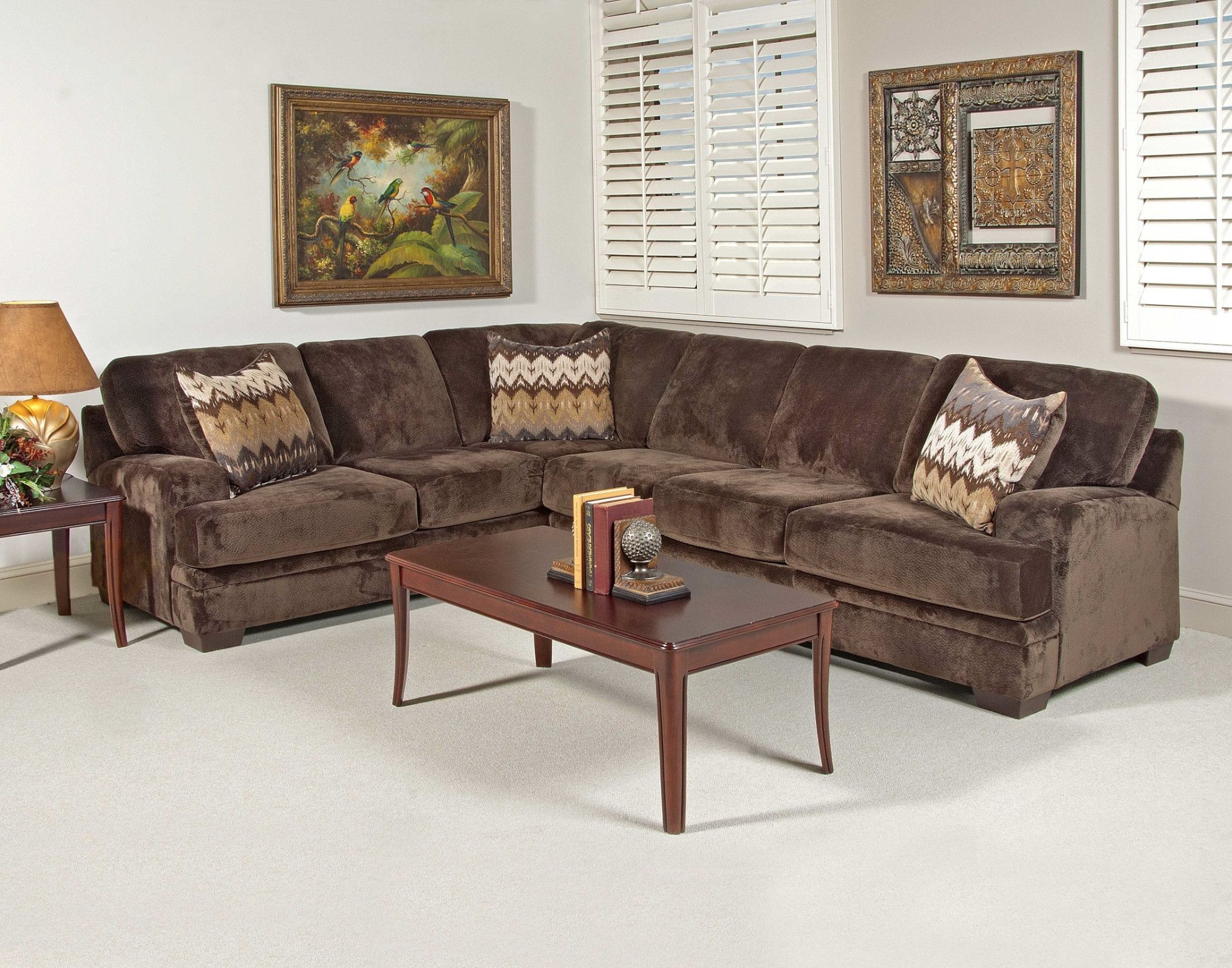 Wondrous Olympian Chocolate Sectional Sofa 799 00 Lf Corner Sofa 95 Ibusinesslaw Wood Chair Design Ideas Ibusinesslaworg