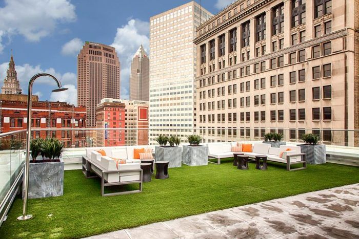 Azure Rooftop Lounge At The 9 2017 East 9th Street Cleveland Restaurants With Incredible Dining In