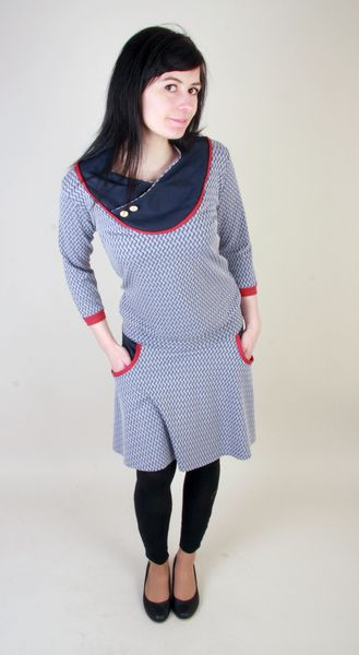 Kleid STICKY // hübsches figurbetontes Jerseykleid mit ...