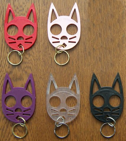 Stabby Cat Self Defense Key Chain Mixology Self Defense