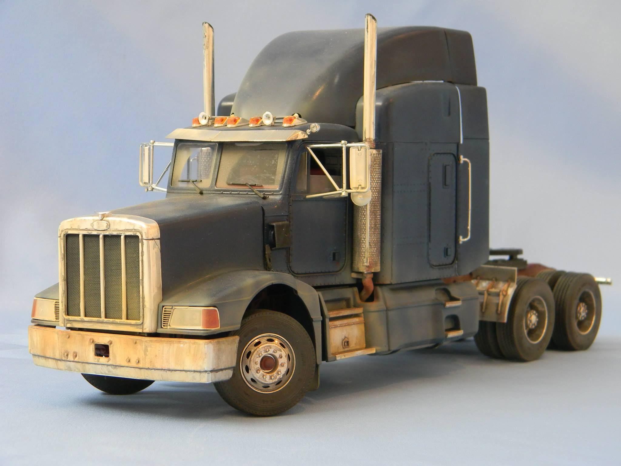 Peterbilt truck italeri 1 25 peterbilt trucksmodel kitsscale