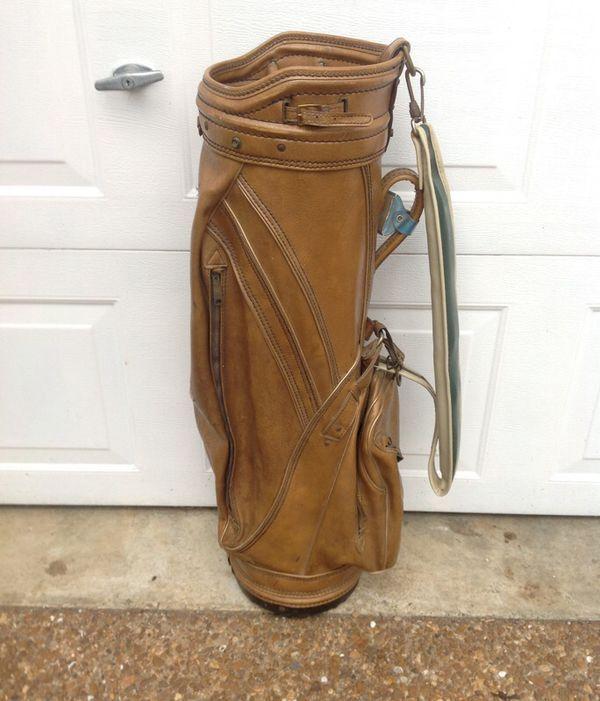Vintage Custom Crafted Burton Golf Bag For Ben Hogen Fair Condition And A Great Conversation