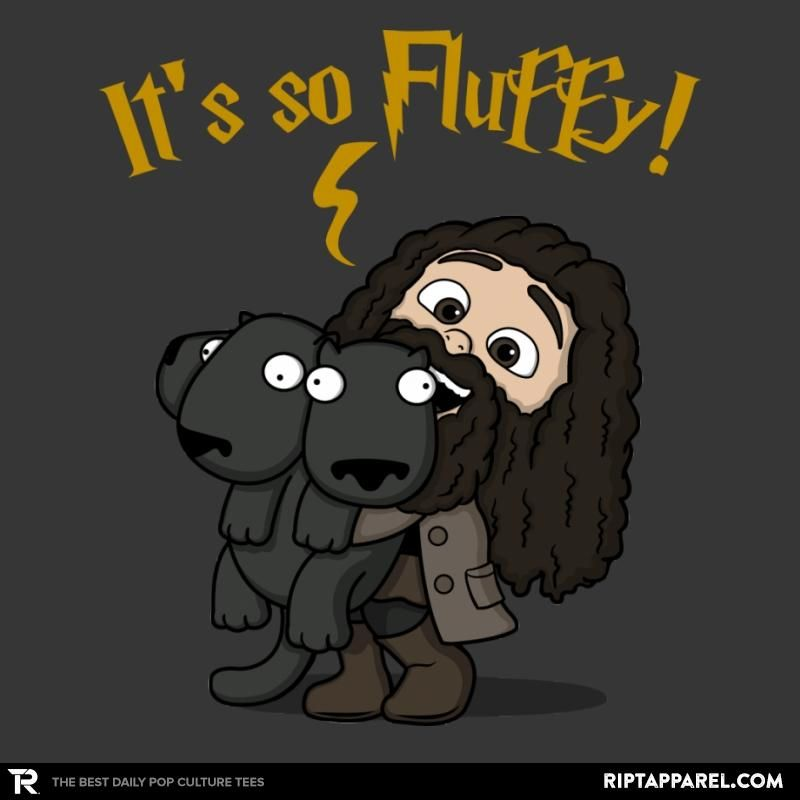 Funny Harry Potter// Despicible Me Minion tshirts Its so fluffy Hagrid