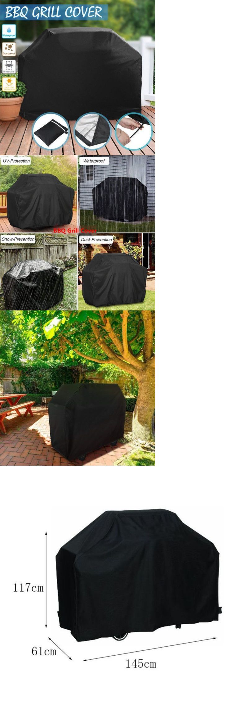 Details about 57 bbq grill cover gas barbecue heavy duty