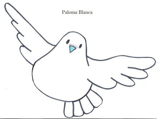 Imagenes De Palomas Para Dibujar Faciles Imagui Educación