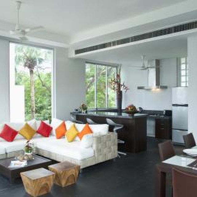 Modern Furniture 2014 Clever Furniture Arrangement Tips: Careful Furniture Placement Makes An L-shaped Room Less