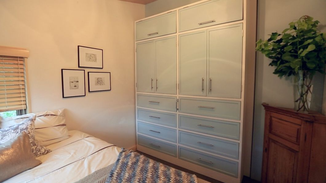 This Vermont Family Wonu0027t Have To Worry About Unused Space When A Room Is  Empty Due To The Mobile Closet. Browse More Photos From The Vermont Chalet  Gallery ...