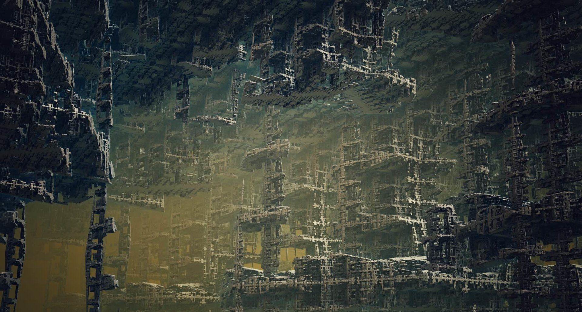 ArtStation - Fractals #3 - The Fallen City, Tomasz Artur Bolek