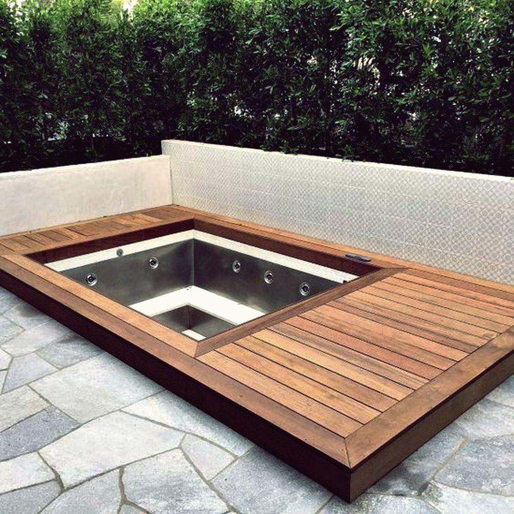 20 besten Backyard Whirlpool Deck Design Ideen zum Entspannen ...