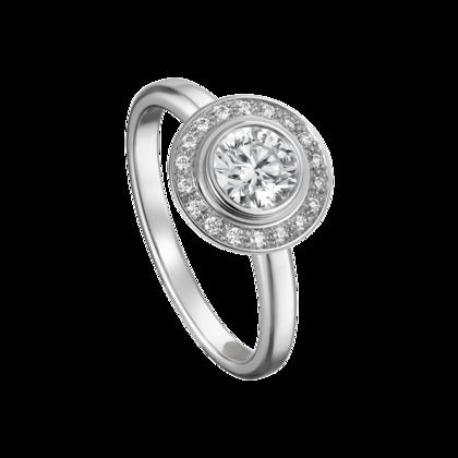 02eb529d574 Cartier D Amour Solitaire Platinum Diamonds Fine Engagement