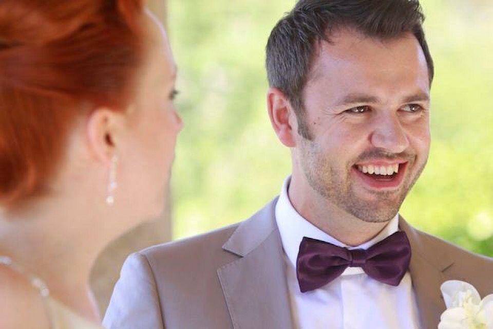 Happy man!   Gay & Lesbian Weddings   Pinterest