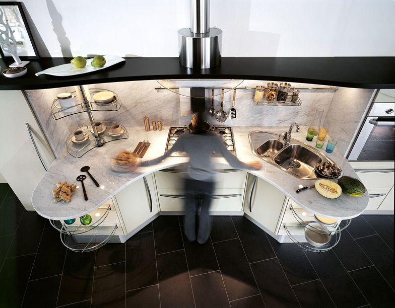 Snaidero #Cucine #Kitchen Skyline, Lucci \ Orlandini Design Work - kompakte kuche snaidero board